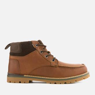 Toms Men's Hawthorne Waterproof Leather Boots - Peanut Brown