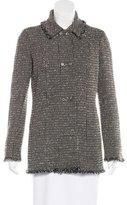 Chanel Wool Tweed Coat
