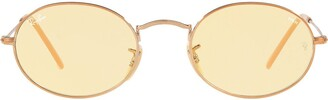Ray-Ban Oval Flat Lenses sunglasses