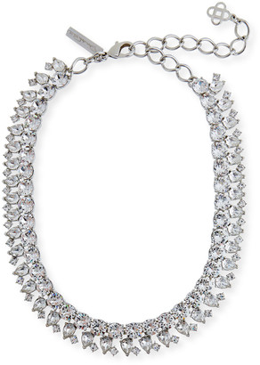 Oscar de la Renta Crystal Stone Necklace