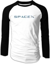 Sofia Spacex Logo Long Sleeve Baseball Shirts For Men M