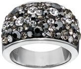 Confetti Gray Crystal Dome Ring