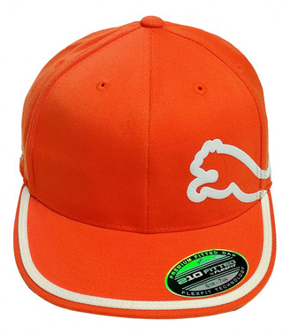 Puma Orange Cloth Hats & pull on hats