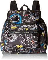 Le Sport Sac 9808 G057 Small Edie Backpack