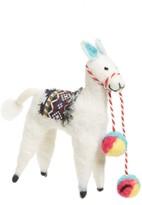 Nordstrom Llama Felt Ornament