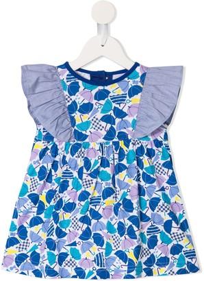 Familiar Umbrella Print Dress