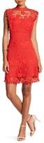 Willow & Clay Crochet Lace Pom Pom Dress