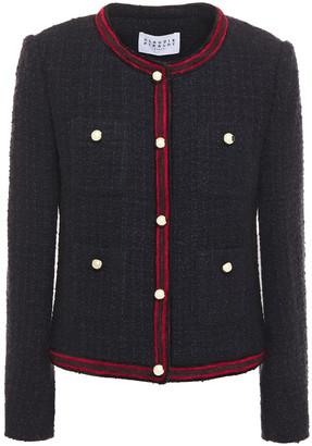Claudie Pierlot Striped Tweed Jacket