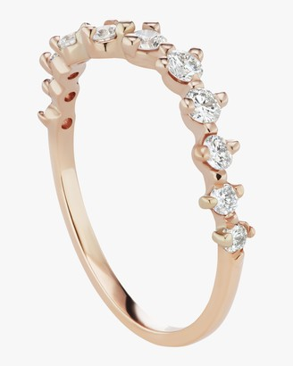 Swell Half Band Diamond Ring