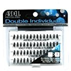 Ardell (6 Pack Professional Double Individuals Knot-Free Double Flares - Long Black