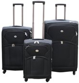 Ice Canada 3-Piece - and Carry On Suitcase, Luggage Spinner Lightweight Hard Side St. Dennis