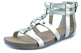 Blowfish Gotten Women Open Toe Synthetic Gold Gladiator Sandal.