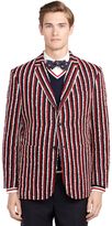 Brooks Brothers Stripe Wool Sport Coat