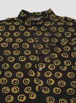 Smiley Batik Short Sleeve Shirt