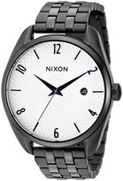 Nixon Women's A418180 Bullet Analog Display Japanese Quartz Black Watch
