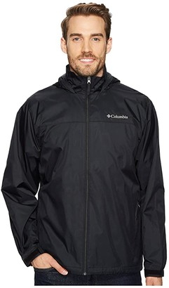 Columbia Glennaker Lake Lined Rain Jacket (Black) Men's Coat