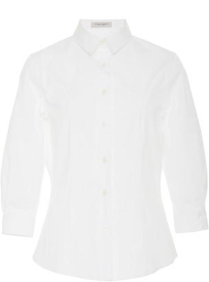 Carolina Herrera Classic Cotton Collared Shirt
