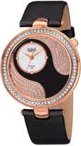Burgi Women's Silk Diamond Watch