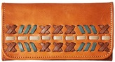 American West Mohican Melody Trifold Wallet