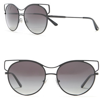 Tory Burch 56mm Vented Cat Eye Sunglasses