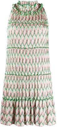 Missoni Ruffled Neck Sleeveless Dress