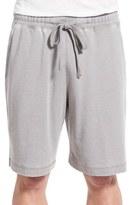 Daniel Buchler Washed Cotton Blend Lounge Shorts