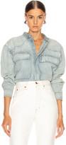 Fear Of God Vintage Denim Shirt in Vintage Indigo | FWRD