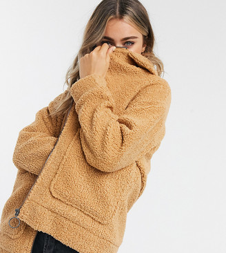 Wednesday's Girl teddy coat
