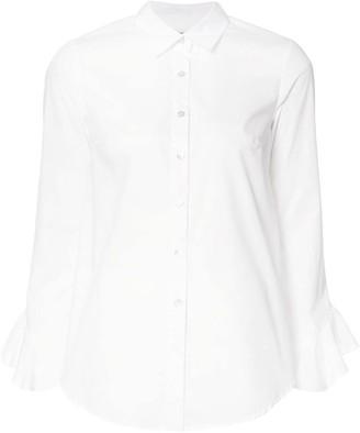 Suno Ruffled Sleeves Shirt