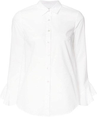 Suno ruffled sleeves shirt