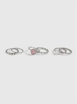 Dorothy Perkins Multipack Pink Ring
