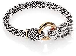John Hardy Women's Naga 18K Yellow Gold & Sterling Silver Dragon Bracelet