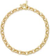 Lauren Ralph Lauren Gold-Tone Oval-Link Statement Necklace