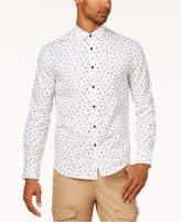Sean John Men's Partial-Letters Print Shirt