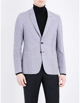 Paul Smith Geometric-print Seersucker Jacket