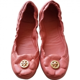 Tory Burch Pink Leather Ballet flats