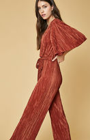 Oh My Love Lily Pleated Kimono Jumpsuit