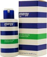 Benetton Energy for Men-3.3-Ounce EDT Spray