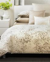 """Calvin Klein 18"""" Square Diagonal Overlay Decorative Pillow"""