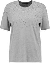 Markus Lupfer Alex crystal-embellished cotton-blend jersey T-shirt