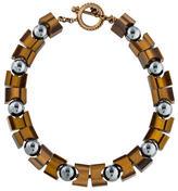 Stephen Dweck Tiger's Eye Quartz Collar