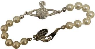 Vivienne Westwood White Metal Bracelets