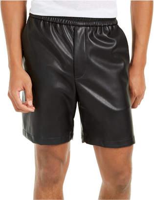 INC International Concepts Inc Men Faux Leather Shorts