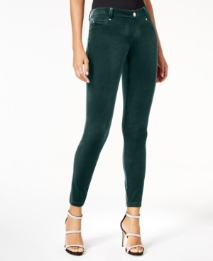 INC International Concepts Inc Velvet Skinny Pants, Created for Macy's