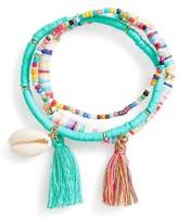 Cara Girl's 3-Pack Beaded Bracelets
