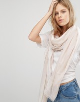 Calvin Klein Jeans Scarf With Painted Edge Detail