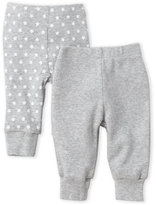Skip Hop Newborn Girls) Two-Piece Grey Knit Pants