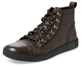 John Varvatos Bedford Hiker Leather Hi Top