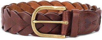 Ami Paris Braided Belt