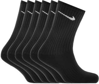 Nike Six Pack Socks Black
